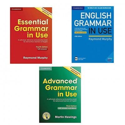 [秒杀]剑桥英语语法工具书 Grammar in Use系列3册