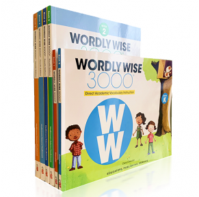 [预订]wordly wise 3000 K-12级35册(赠答案)