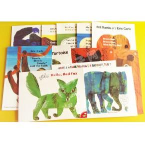 Eric Carle艾瑞•卡尔启蒙系列英文绘本30册点读版