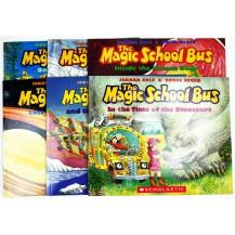 The Magic School Bus(神奇校车)手绘版6册