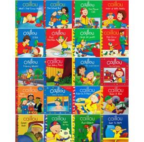[6.1特价]卡由Caillou英文绘本41册点读版