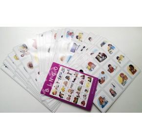 牛津阅读树高频词Sight Words bingo游戏卡