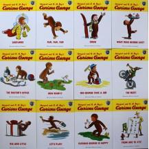 [有声点读]Curious George乔治好奇猴自然拼读Phonics系列