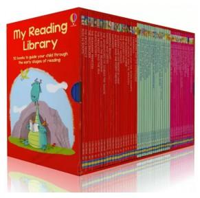 My Reading Library 我的第二个图书馆50册原版盒装