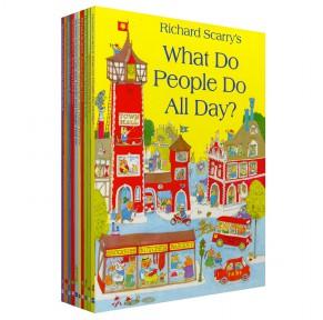 斯凯瑞金色童书 Richard Scarry's 10册