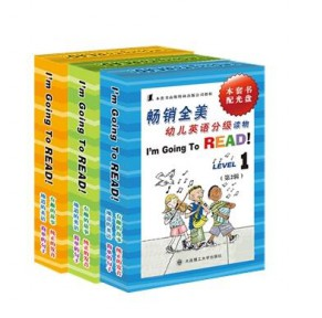 I m going to read幼儿英语分级读物 1-3辑30册团购