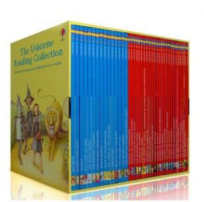 我的第三个图书馆The Usborne Reading Collection 40册原版盒装