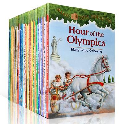 Magic Tree House神奇树屋 1-55册点读版(烫金版)