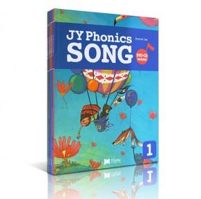 JY Phonics Song 1-4册全集点读版