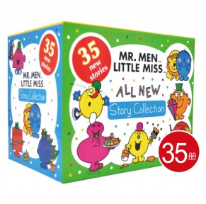 Mr. Men Little Miss 奇先生妙小姐新故事 原版35册