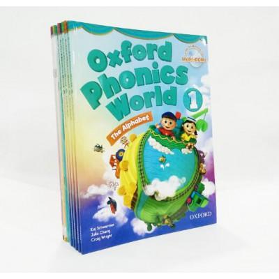 [原版]牛津拼读教材Oxford Phonics World全套1-5