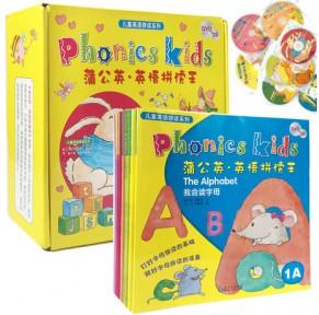 [有声点读]蒲公英·英语拼读王Phonics kids1-6级12册