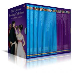 我的第四个图书馆The Usborne Reading Collection 40册原版盒装