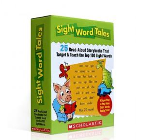 原版进口Sight Word Tales 常见词故事盒点读版