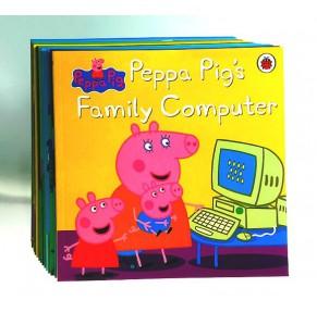 英文原版绘本:粉红猪小妹 Peppa Pig 17册
