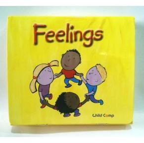 原版Harcourt 情商Feelings 12册带CD