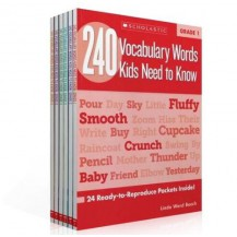 240 Vocabulary Words Kids Need to Know Grade 练习册 6册