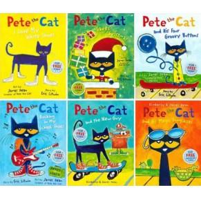 皮特猫 Pete the Cat 6册(原版大开)