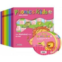 棒棒幼儿英语拼读 Phonics Kids 1-6全套12册点读版