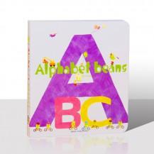 Alphabet beans字母ABC纸板书