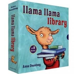 羊驼拉玛llama llama library8册盒装