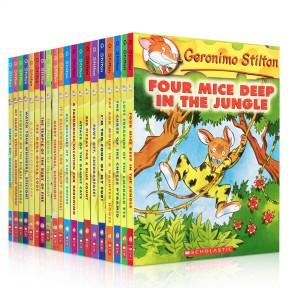 Geronimo Stilton 老鼠记者20册点读版