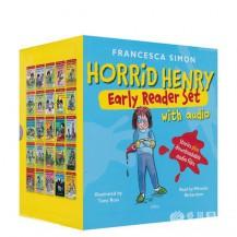 [特价]淘气包亨利Horrid Henry 25册点读版