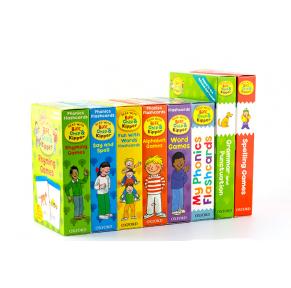 牛津阅读树1-6级单词闪卡8盒