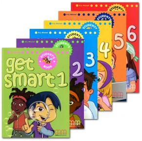 美国小学英语教材get smart 1-6级