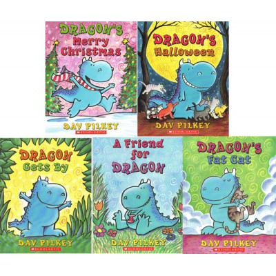 [特价]Dragon Tales恐龙传奇5册点读版