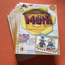 加州wonders数学My Math GK点读版4册