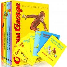 [新春特价]好奇猴乔治 Curious George 精装7册