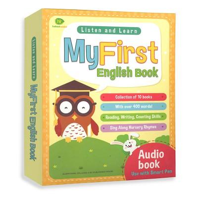 我的第一套英文认知书My First English Book10册(双语点读)