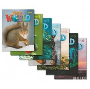 美国国家地理教材Our World14册点读版(只团3天)
