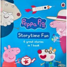 原版精装 粉红猪小妹Peppa Pig6合1点读版