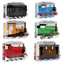 英文绘本Thomas and Friends 托马斯6本异形纸板书