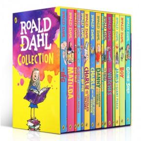 [秒杀1天]罗尔德·达尔Roald Dahl 全集 (16册无点读)