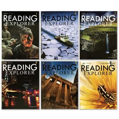 国家地理少儿版_国家地理Reading Explorer 阅读与探索6册全彩版