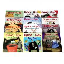 [有声点读]I can read 系列 Splat the Cat 啪嗒猫12册