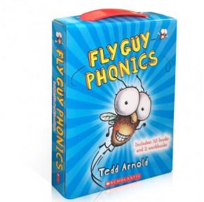Fly Guy苍蝇小子12册自然拼读盒装点读版