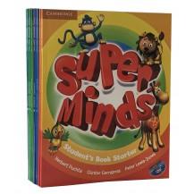 英文原版:剑桥少儿英语Super Minds starter 1/2/3