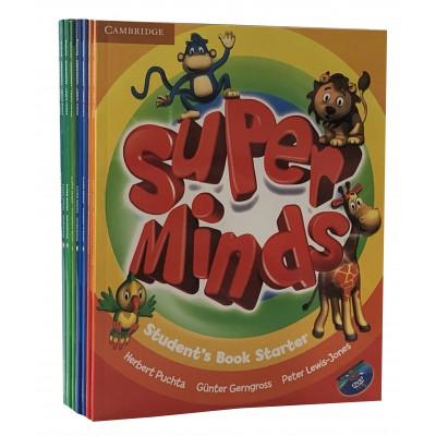 剑桥少儿英语Super Minds starter 1/2/3/4/5/6
