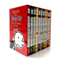 Diary of a Wimpy Kid 小屁孩日记14册(非点读无盒)