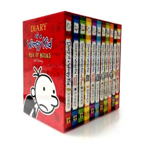 Diary of a Wimpy Kid 小屁孩日记16册