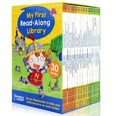 原版绘本:My First Read Along Library盒装30册