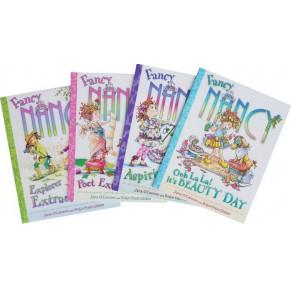 [双11特惠]Fancy Nancy南希的奇妙世界4册点读版