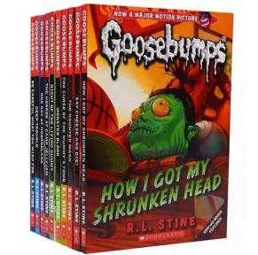 章节书:鸡皮疙瘩 Goosebumps系列10册(非点读)