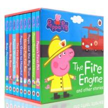粉红猪小妹Peppa Pig故事纸板书9册点读版