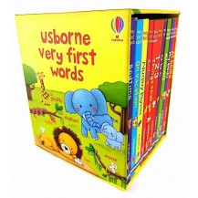 斯伯恩Usborne Very first words10本纸板书