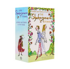原装进口莎士比亚The Shakespeare Stories 400周年纪念版 经典合辑16册